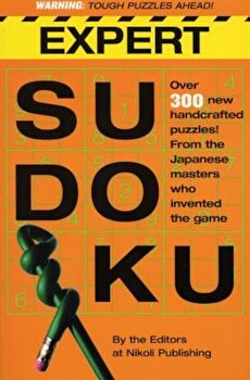 Expert Sudoku, Paperback/Nikoli Publishing poza cate