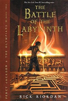 Battle of the Labyrinth, Hardcover/Rick Riordan poza cate