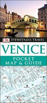 Venice Pocket Map and Guide, Paperback/*** poza cate