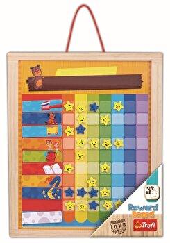 Tabla din lemn cu recompense zilnice
