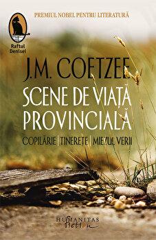 Scene de viata provinciala/J.M. Coetzee imagine