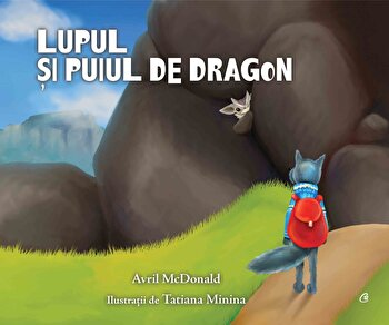 Lupul si puiul de dragon/Avril McDonald
