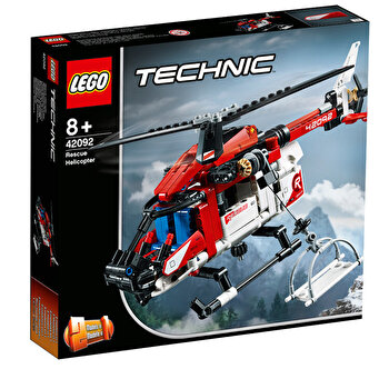 LEGO Technic 2 in 1, Elicopter de salvare 42092