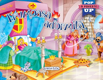 Pop-up-Frumoasa adormita/***