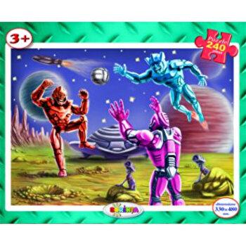 Puzzle - Roboti spatiali (240 piese)-*** imagine