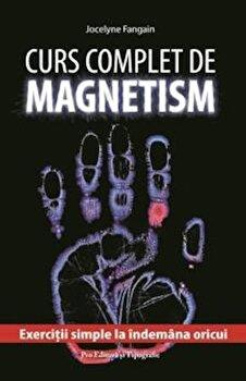 Curs complet de magnetism. Exercitii simple la indemana oricui/Jocelyne Fangain imagine elefant.ro 2021-2022