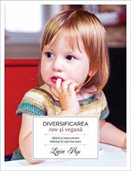 Imagine  Diversificarea Raw Si Vegana - Sfaturi Retete Pentru Bebelusi Copii