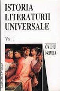 Istoria literaturii universale (2 volume)/Ovidiu Drimba poza cate