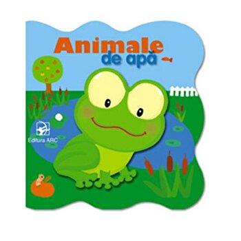 Animale de apa. Carte cartonata/*** imagine elefant.ro 2021-2022