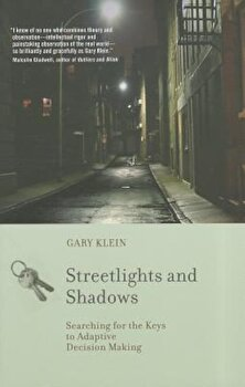Streetlights and Shadows: Searching for the Keys to Adaptive Decision Making, Paperback/Gary A. Klein poza cate