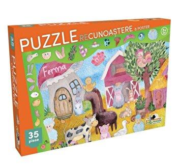 Puzzle Recunoastere Ferma, 35 piese