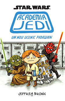 Star Wars. Academia Jedi. Un nou ucenic Padawan-Jeffrey Brown imagine