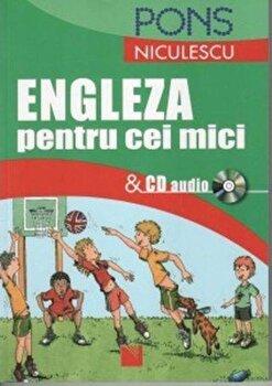 Engleza pentru cei mici si CD audio/*** imagine elefant.ro 2021-2022