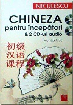 Chineza pentru incepatori/Monika Mey imagine elefant.ro 2021-2022