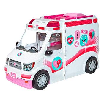 Set de joaca Barbie Ambulanta echipata