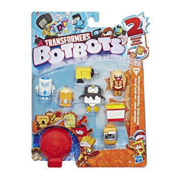 Transformers - Set 8 figurine BotBots Greaser Gang