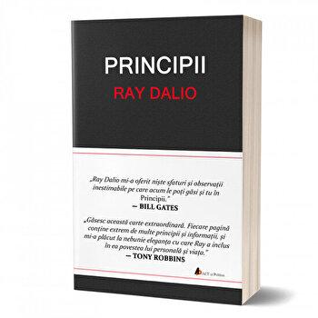 Coperta Carte Principii - invata sa obtii cat mai mult din fiecare efort pe care il depui! - Editia de lux