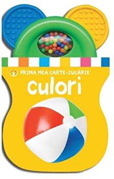 Coperta Carte Prima mea carte-jucarie. Culori