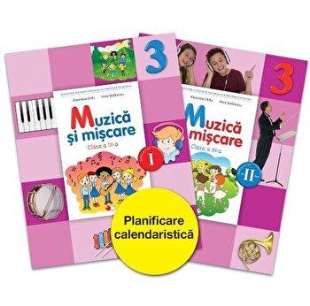 Muzica si miscare - manual pentru clasa III-a/Dumitra Radu, Alina Pertea