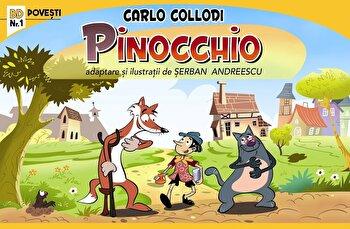 Pinocchio. Benzi desenate/Carlo Collodi
