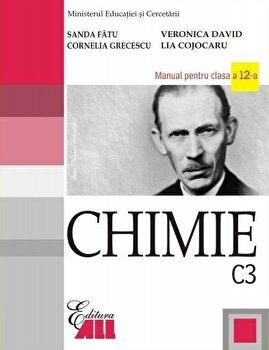Coperta Carte Chimie C3. Manual clasaa XII-a