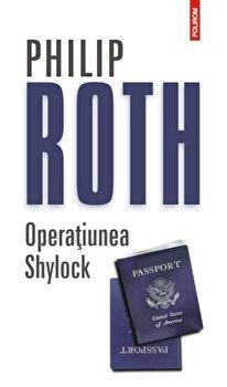 Coperta Carte Operatiunea Shylock. Editia 2014