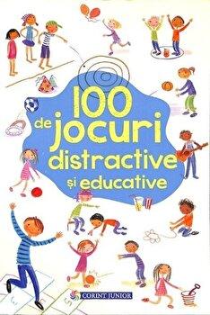 100 de jocuri distractive si educative/Rebecca Gilpin imagine elefant.ro 2021-2022