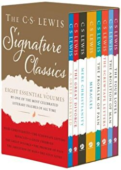 The C. S. Lewis Signature Classics (8-Volume Box Set): An Anthology of 8 C. S. Lewis Titles: Mere Christianity, the Screwtape Letters, Miracles, the G, Paperback/C. S. Lewis image0