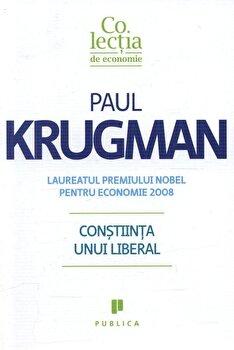 Constiinta unui liberal/Paul Krugman imagine