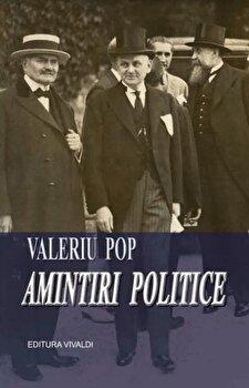Coperta Carte Amintiri politice