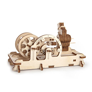 Puzzle 3D - Motor pneumatic, 81 piese