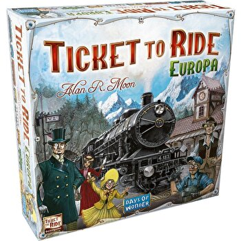 Joc Ticket to Ride Europa - limba romana