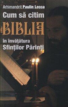 Imagine Cum Sa Citim Biblia In Invatatura Sfintilor Parinti - paulin Lecca