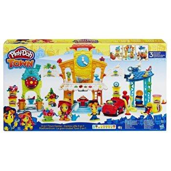 Play-Doh Town, Set 3 in 1 - Centrul orasului