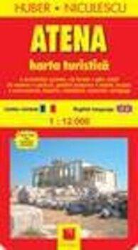 Atena. Harta turistica si rutiera/Huber Niculescu imagine elefant.ro