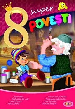 8 Super Povesti - Pinocchio,.../***