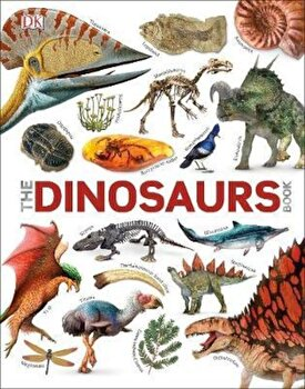 Dinosaurs Book, Hardcover/*** poza cate