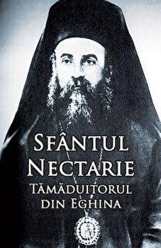 Coperta Carte Sfantul Nectarie Tamaduitorul din Eghina. Editie integrala