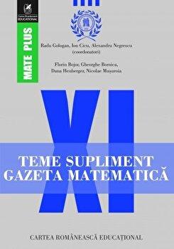 Teme supliment Gazeta Matematica. Clasa a XI-a/*** imagine elefant.ro 2021-2022