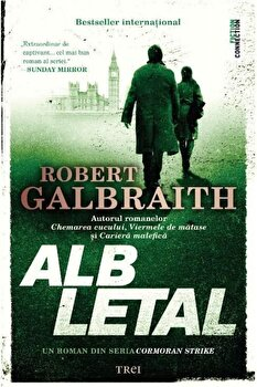 Imagine Alb Letal - robert Galbraith (j.k - Rowling)
