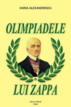 Coperta Carte Olimpiadele lui Zappa
