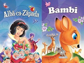 2 Povesti: Alba-ca-zapada si Bambi/***