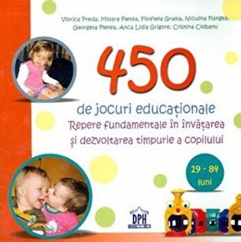 450 de jocuri educationale-Viorica Preda imagine