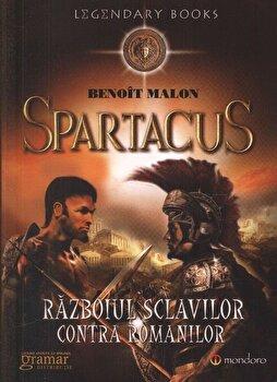 Coperta Carte Spartacus. Razboiul sclavilor impotriva romanilor