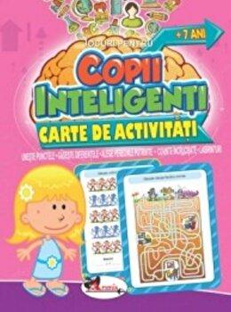 Jocuri pentru copii inteligenti. Carte de activitati +7 ani/***