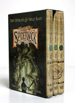 Beyond the Spiderwick Chronicles Boxed Set: The Nixie's Song/A Giant Problem/The Wyrm King, Hardcover/Tony Diterlizzi poza cate