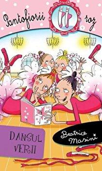 Coperta Carte Dansul verii, Pantofiorii roz, Vol. 9