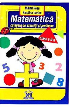 Matematica - culegere de exercitii si probleme. Clasa a II-a/Mihail Rosu, Niculina Ilarion