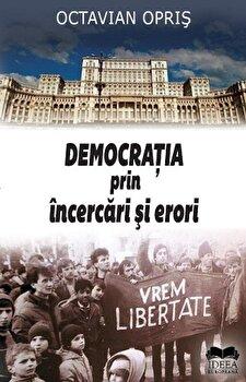 Coperta Carte Democratia prin incercari si erori