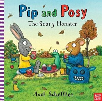 Pip and Posy: The Scary Monster, Hardcover/Axel Scheffler imagine